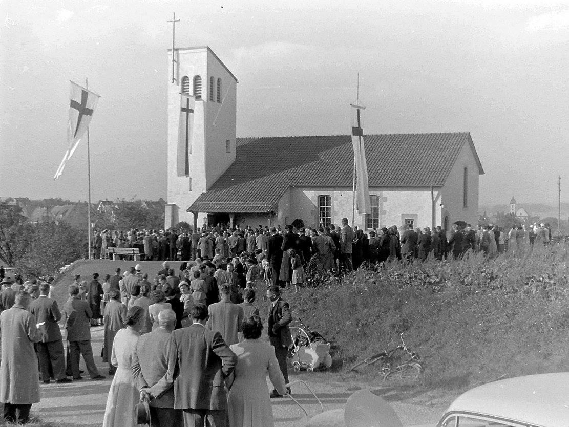 Einweihung Kreuzkirche